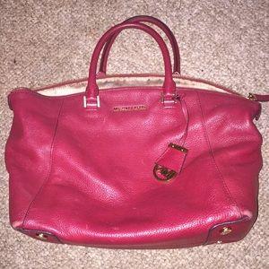 Michael Kors satchel, red